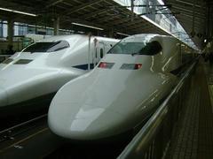 東京駅の700系新幹線