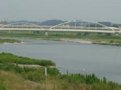 多摩川原橋と水道橋