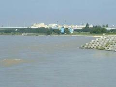 多摩川の風景070908