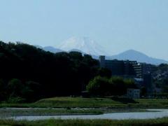 富士山☆姿現す!