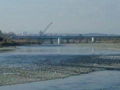 是政橋の工事風景