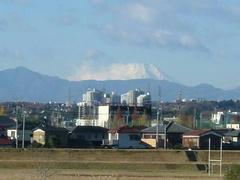 多摩川☆富士山