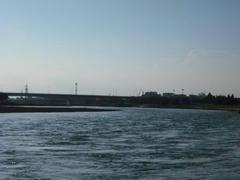 多摩川の輝き