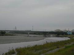 多摩川・冬模様