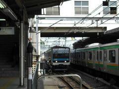 上野駅4番線