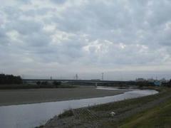多摩川・定点観測地