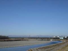 冬の多摩川・定点観測