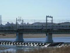 京王線多摩川鉄橋
