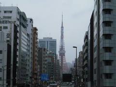 東京タワーの見える街