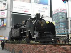 新橋駅・蒸気機関車