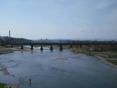 多摩川の絶景