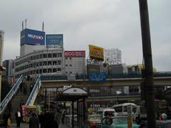 JR飯田橋駅界隈