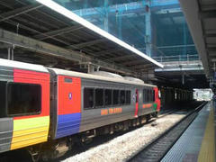 博多駅の風景