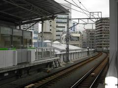 不動前駅から目黒方面