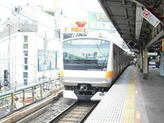 JR神田駅6番線