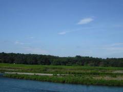 多摩川対岸の風景