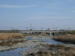 多摩川☆大丸用水堰