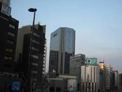 JR田町駅の風景