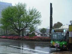 新木場駅前の風景