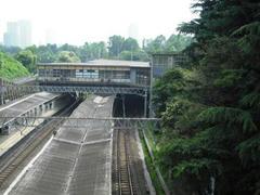 JR四ツ谷駅全景