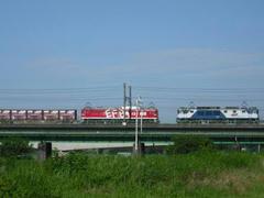 武蔵野貨物線の風景