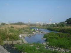 多摩川風景