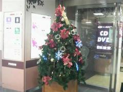 府中駅中クリスマスツリー