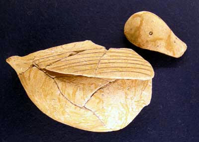 池島・福万寺遺跡出土鳥形土器