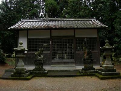 ここは八幡神社だそうです。