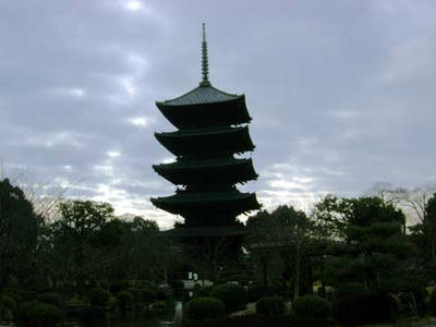 日本一の五重塔