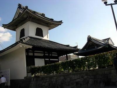 高田御坊『専立寺』の太鼓楼