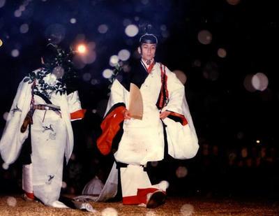 おん祭りの和舞です。