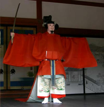 『久米舞』の武官