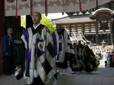 昨年の『聖武天皇祭』 (東大寺)
