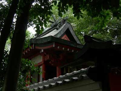 春日造の神殿です。