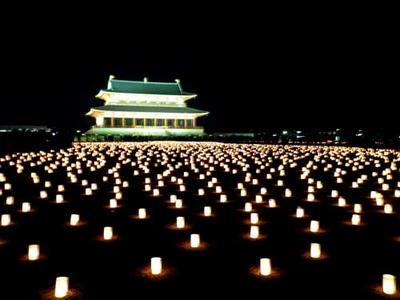 大極殿院の燈花会