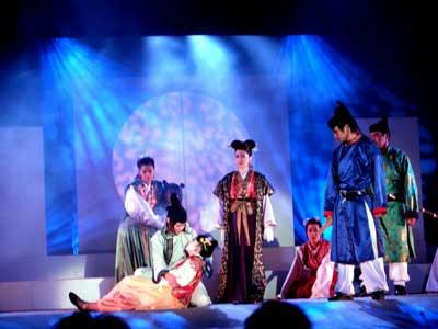 明日香村の劇団『時空』