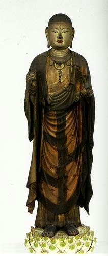 東大寺所蔵 快慶作 地蔵菩薩立像