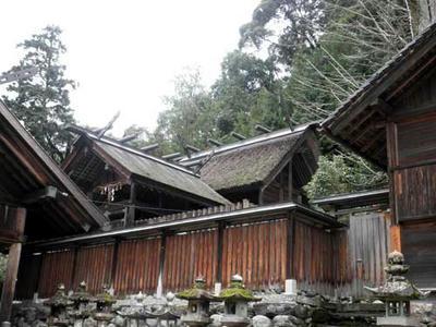 大名持神社の本殿
