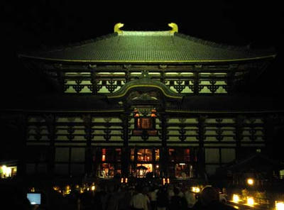 法要後の大仏殿