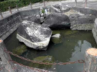 水没、八嶋陵前古墳