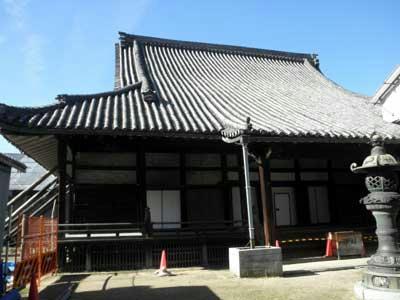 称念寺の本堂はもうすぐ解体修理が始まります。