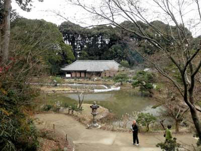 浄瑠璃寺の冬
