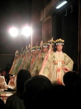 八乙女による『浦安の舞』