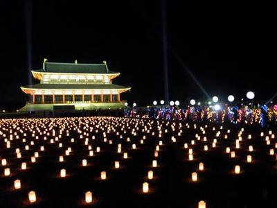 これは『平城京天平祭』の大極殿院