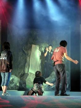 これは劇団『時空』本公演のリハーサル風景……(^。^)