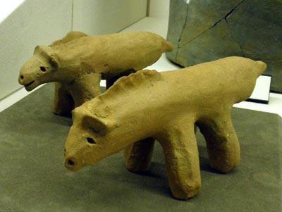 島庄遺跡の土馬