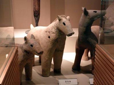 四条古墳の動物埴輪