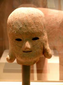 石見遺跡の埴輪