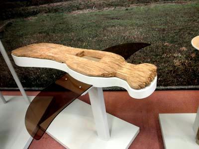 市尾墓山古墳の鳥形木製品